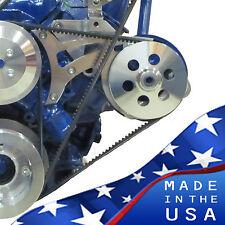 Ford Power Steering Bracket 289 302 351W V-Belt SBF  Billet Aluminum Small Block