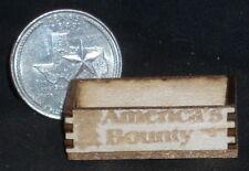America's Bounty Produce Crate 1:12 Miniature Market Farm Grocery Store