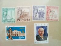 lot N°3 - 6 timbres MALTE