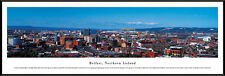 Belfast Northern Ireland City Skyline Parliament House Framed Poster Picture I