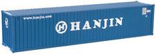 ATLAS (N-Scale) #50002263 HANJIN 40' Std. Containers SET #1 (3-Pack) - NIB