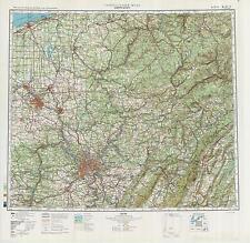 Russian Soviet Military Topographic Maps - PITTSBURGH (USA), 1:500 000, ed.1983