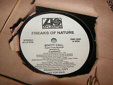 "Freaks of Nature Booty Call 12"" Single NM Atlantic DMD2085 1994 PROMO"