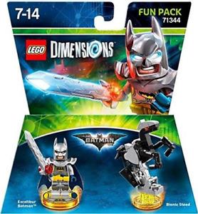 Lego Dimensions Batman Movie Fun Pack 71344 Excalibur Bionic Steed 3DS Wii U NEW