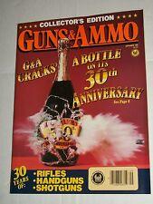 Vintage GUNS & AMMO September 1988 Vol 32 #9 Collector's Edition