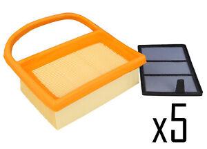 Pack Of 5 Air Filter set  STIHL TS410 TS420 4238 140 4401
