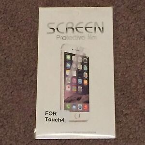 Screen Protective Film iPod Touch 4 (Electronics, Audio Player) Brand New