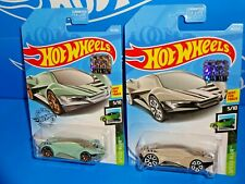 Hot Wheels 2019 Factory Set Lot of 2 Speed Blur #151 Exotique Green & Tan