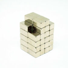 5pcs 20x10x10mm Block Rare Earth Neodymium NdFeB Magnet Strong Craft Magnet N38