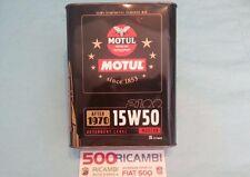 FIAT 500 F/L/R 2L OLIO MOTORE SPECIALE MOTUL 15W50 SEMI SINTETICO AUTO DAL 1970