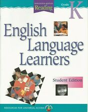 English Language Learners Grade K Student Edition 2001 Paperback