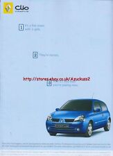 """Renault Clio Campus """"1. Its A Flat Share With 3 Girls"""" 2006 Magazine Advert#2703"""
