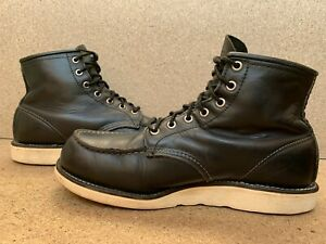 Vtg Red Wing 8179 Black Irish Setter Moc Toe 875 Heritage Sz 9 E