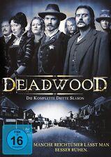 4 DVDs *  DEADWOOD - KOMPLETTE SEASON / STAFFEL 3 - MB  # NEU OVP +