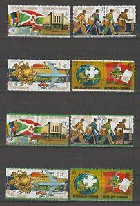 S37322 Burundi 1974 MNH Upu 16v