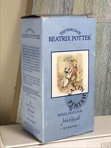 Beatrix Potter one empty John Beswick Studios Box, Near Mint, rare Satin Finish