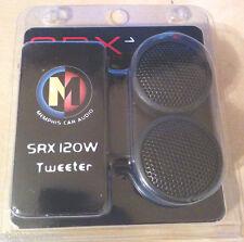 "Memphis SRX1 120 Watts Car Stereo Component 1"" Tweeters Pair Brand NEW"