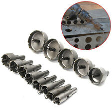 Cheap Stainless Steel Metal Alloy 16-53mm Carbide Tip TCT Drill Bit Hole Saw 13X