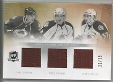 2009-10 The Cup Triple Game Used Jerseys Stastny Duchene O'reilly 22/25 Colorado