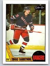 (HCW) 1987-88 O-Pee-Chee #28 Tomas Sandstrom NY Rangers