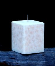 200hr Coco Chanel Perfume Scented SQUARE ECO CANDLE Stylish Bevelled Edges GIFTS