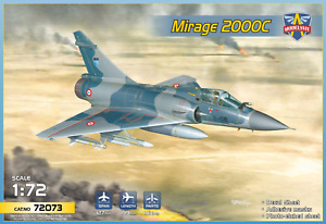 1/72 Mirage 2000C 72073 Modelsvit plastic kit