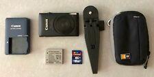 Canon PowerShot ELPH 300 HS 12.1MP Digital Camera - Black