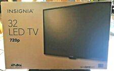 NEW IN BOX Insignia 32 inch LED TV 720p DTS sound (2) HDMI MInt - Fast ship