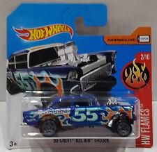 Hot Wheels 2017' 55 CHEVY BEL AIR GASSER HW Flames 2/10 dvb74