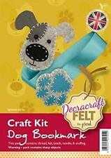 Create Your Own Felt Character Craft Kit Dog Bookmark
