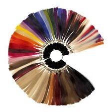 Farbring aller Haarfarben Muster für Echthaar Extensions Haarverlängerung