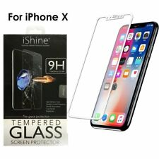 iPhone X  Tempered Glass Screen protector protection Scratch Resistance Strong