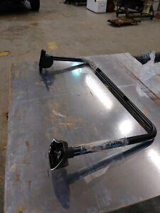 Freightliner M2 Door Mirror Bracket Arm Black