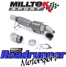 """MILLTEK Focus RS 2.3 MK3 3"""" largebore il tubo verticale & SPORTS CAT TUBO DI SCARICO-si adatta a OE"""