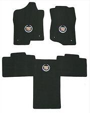 Lloyd Mats LUXE 3PC MAT SET 2011-2014 Escalade ESV *Silver Crest on Each Mat*