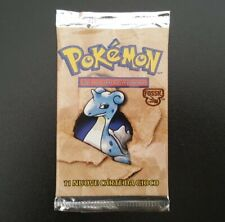 Bustina SIGILLATA Fossil Lapras Pokemon Booster Pack Sealed Pacchetto WOTC