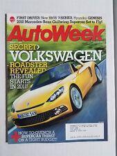 Auto Week Magazine August 11, 2008 - BMW 7-Series - 2010 Mercedes-Benz Gullwing