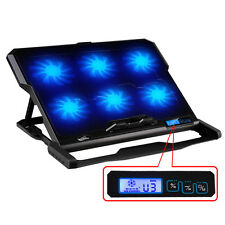 """12""""-15.6"""" Laptop cooler 2 USB Ports  Six cooling Fan laptop cooling pad stand"""