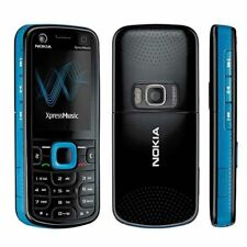Original Unlocked Nokia 5320 XpressMusic 3G GPS 2MP Camera Blue Mobile Bar Phone