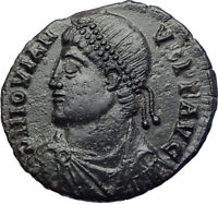 JOVIAN 363AD Rare Genuine  Authentic  Ancient Roman Coin WREATH i73689