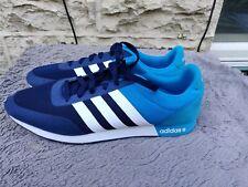 Adidas neo V RACER 2.0 mens RUNNING TRAINERS  Black / White / Blue
