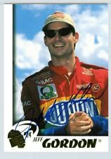 Jeff Gordon 1997 97 Press Pass Authentics Autographed Insert Card Signings Auto