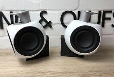 Bang & Olufsen Beolab 3 MK 2 Weiß mit Wandhalterung.