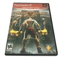 God of War II 2 Greatest Hits (Sony PlayStation 2, 2007) Complete Mint PS2