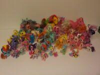 Hasbro MLP My Little Pony Figures Lot of 40 Various Versions/Seasons