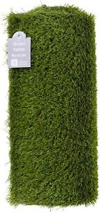 Artificial Grass Table Decorations Runner Football Party Themed Reusable   1.5m