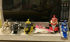 1995 mcdonalds mighty morphin power rangers All 6 Characters & Vehicles