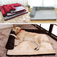 NEW Dog Pet Washable Soft Foam Waterproof Mattress Basket Bed Sofa Pad Mat