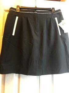 NWT Ladies EP PRO BLACK & WHITE Golf Skort Skirt - sizes 8 & 10 Domino Effect