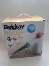 Beldray Handheld Detergent Steam Cleaner White Red New